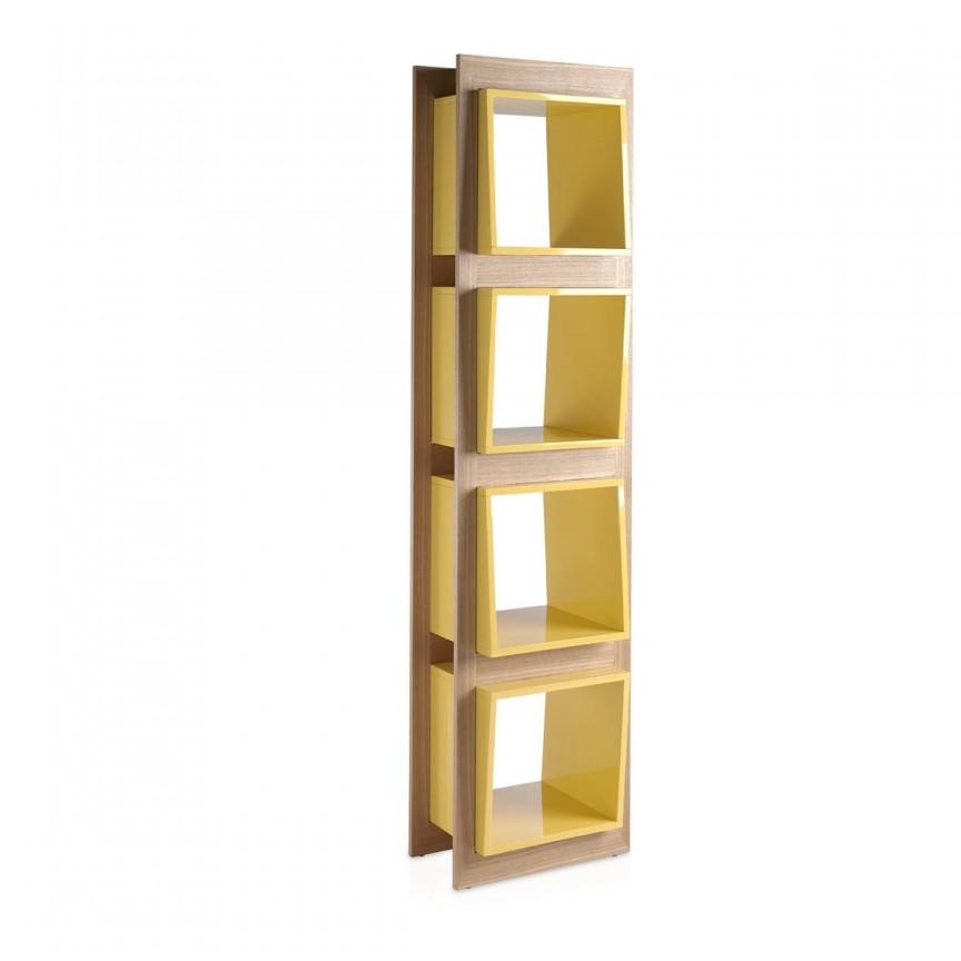 Raft modern design italian Book AC-829DP-ROBLE, PROMOTII, Corpuri de iluminat, lustre, aplice, veioze, lampadare, plafoniere. Mobilier si decoratiuni, oglinzi, scaune, fotolii. Oferte speciale iluminat interior si exterior. Livram in toata tara.  a