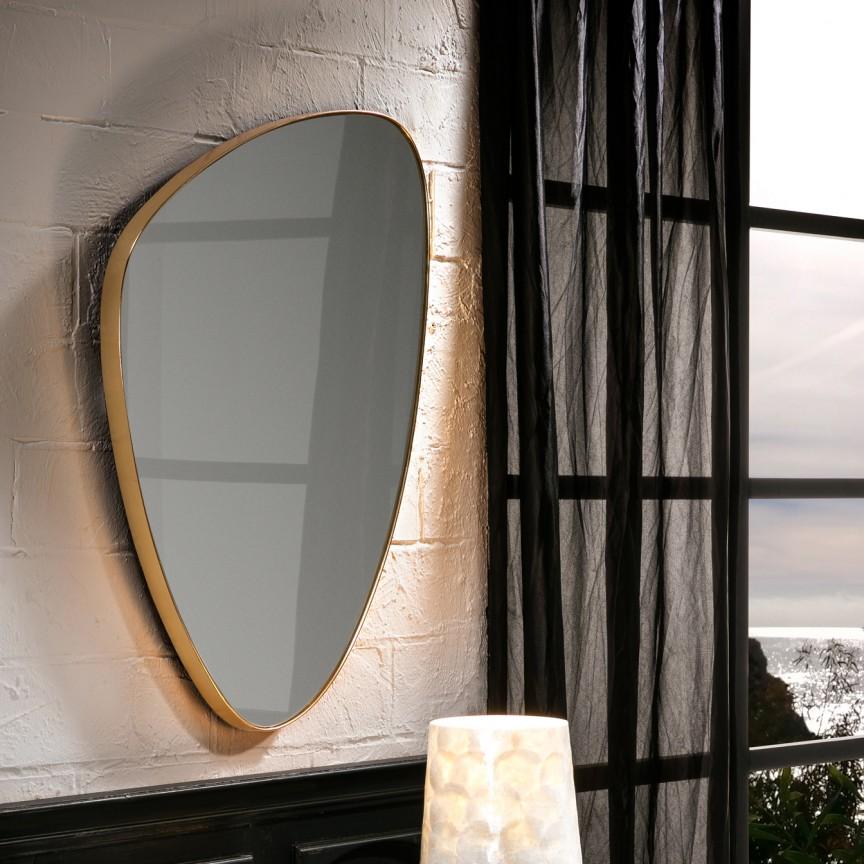 Oglinda decorativa 84x55cm Orio SV-127387, Oglinzi decorative , moderne✅ decoratiuni de perete cu oglinda⭐ modele mari si rotunde pentru Hol, Living, Dormitor si Baie.❤️Promotii la oglinzi cu design decorativ❗ Intra si vezi poze ✚ pret ➽ www.evalight.ro. ➽ sursa ta de inspiratie online❗ Alege oglinzi deosebite Art Deco de lux pentru decorare casa, fabricate de branduri renumite. Aici gasesti cele mai frumoase si rafinate obiecte de decor cu stil contemporan unicat, oglinzi elegante cu suport de prindere pe perete, de masa sau de podea potrivite pt dresing, cu rama din metal cu aspect antichizat sau lemn de culoare aurie, sticla argintie in diferite forme: oglinzi in forma de soare, hexagonale tip fagure hexagon, ovale, patrate mici, rectangulara sau dreptunghiulara, design original exclusivist: industrial style, retro, vintage (produse manual handmade), scandinav nordic, clasic, baroc, glamour, romantic, rustic, minimalist. Tendinte si idei actuale de designer pentru amenajari interioare premium Top 2020❗ Oferte si reduceri speciale cu vanzare rapida din stoc, oglinzi de calitate la cel mai bun pret. a