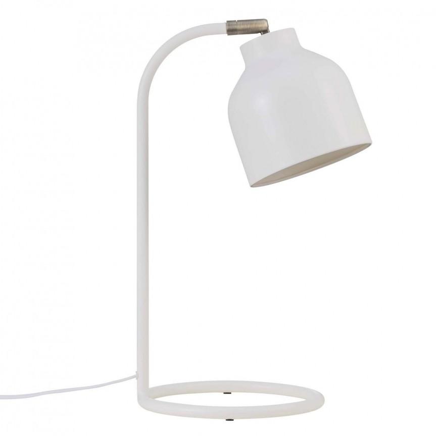 Veioza scandinava design modern minimalist Julian 48405001 NL, Veioze, Lampi de masa, Corpuri de iluminat, lustre, aplice, veioze, lampadare, plafoniere. Mobilier si decoratiuni, oglinzi, scaune, fotolii. Oferte speciale iluminat interior si exterior. Livram in toata tara.  a