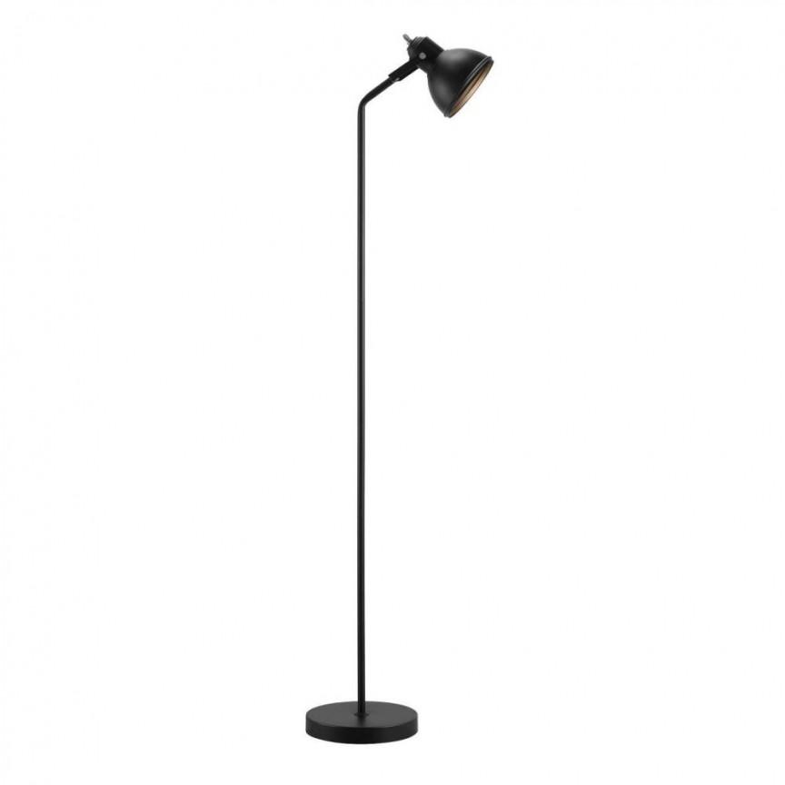 Lampadar Lampa de podea design nordic Aslak, negru 46724003 NL, Magazin,  a