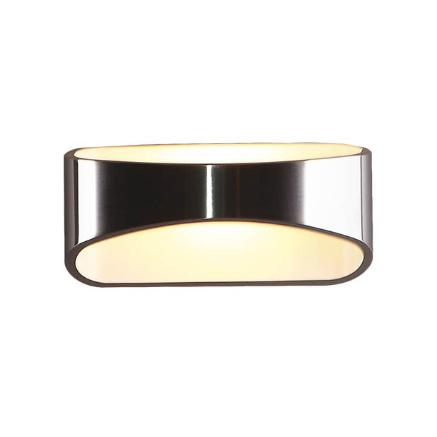 Aplica de perete LED Hugo alb/ argintiu W0053 MX, Aplice de perete moderne, LED⭐ modele potrivite pentru iluminat living dormitor, bucatarie, hol.✅DeSiGn decorativ actual 2021!❤️Promotii lampi❗ ➽ www.evalight.ro. Alege oferte NOI corpuri de iluminat interior elegante de tip lustre aplicate de perete si tavan pt camere casa, ieftine si de lux, calitate deosebita la cel mai bun pret. a