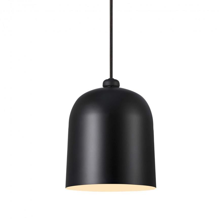 Pendul LED dimabil directionabil design modern Angle negru 48163003 DFTP, Lustre LED, Pendule LED, Corpuri de iluminat, lustre, aplice, veioze, lampadare, plafoniere. Mobilier si decoratiuni, oglinzi, scaune, fotolii. Oferte speciale iluminat interior si exterior. Livram in toata tara.  a