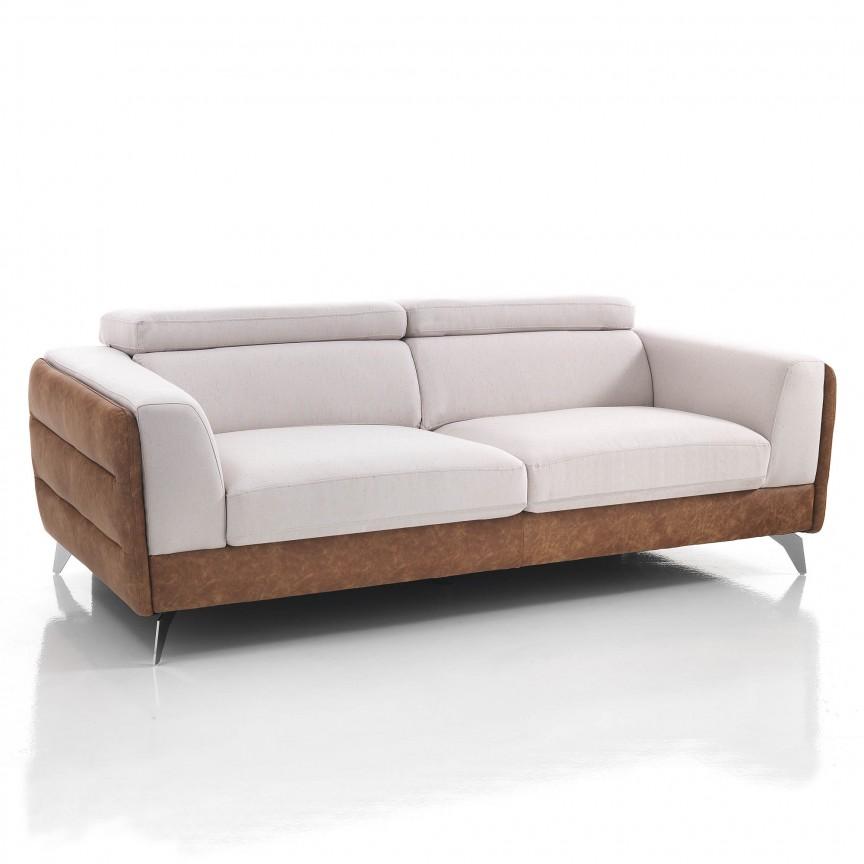 Canapea 3 locuri eleganta, design modern CAROL 3721 FTP, Canapele - Coltare, Corpuri de iluminat, lustre, aplice, veioze, lampadare, plafoniere. Mobilier si decoratiuni, oglinzi, scaune, fotolii. Oferte speciale iluminat interior si exterior. Livram in toata tara.  a