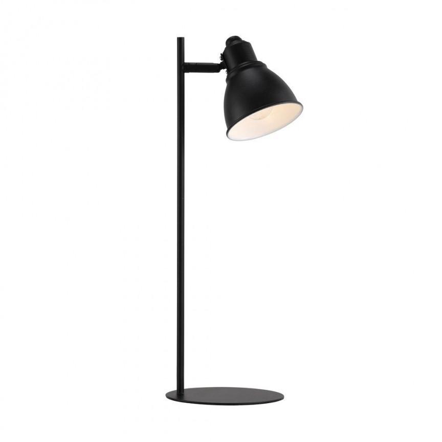 Veioza moderna design minimalist nordic Mercer neagra 46665003 NL, Veioze, Lampi de masa, Corpuri de iluminat, lustre, aplice, veioze, lampadare, plafoniere. Mobilier si decoratiuni, oglinzi, scaune, fotolii. Oferte speciale iluminat interior si exterior. Livram in toata tara.  a