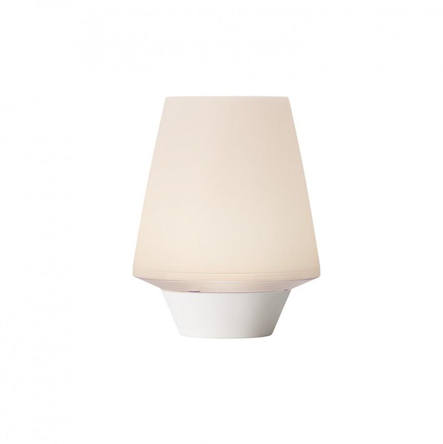 Veioza moderna design decorativ Halifax 47635001 NL, Veioze LED, Lampadare LED, Corpuri de iluminat, lustre, aplice, veioze, lampadare, plafoniere. Mobilier si decoratiuni, oglinzi, scaune, fotolii. Oferte speciale iluminat interior si exterior. Livram in toata tara.  a