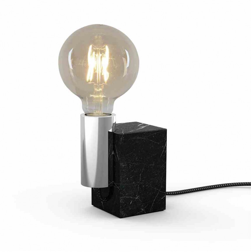 Veioza, Lampa de masa design modern Marmor, crom 3173642 NV, Veioze, Lampi de masa, Corpuri de iluminat, lustre, aplice, veioze, lampadare, plafoniere. Mobilier si decoratiuni, oglinzi, scaune, fotolii. Oferte speciale iluminat interior si exterior. Livram in toata tara.  a