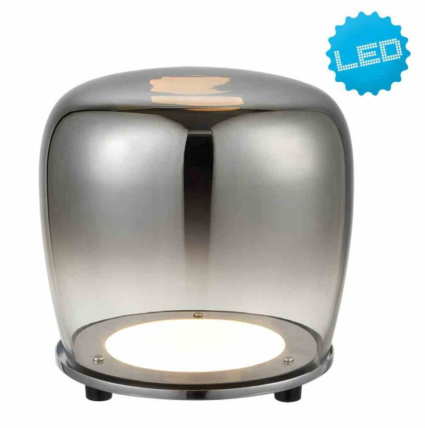 Veioza, Lampa de masa LED design modern Lamp, 18cm 3167642 NV, Veioze LED, Lampadare LED, Corpuri de iluminat, lustre, aplice, veioze, lampadare, plafoniere. Mobilier si decoratiuni, oglinzi, scaune, fotolii. Oferte speciale iluminat interior si exterior. Livram in toata tara.  a