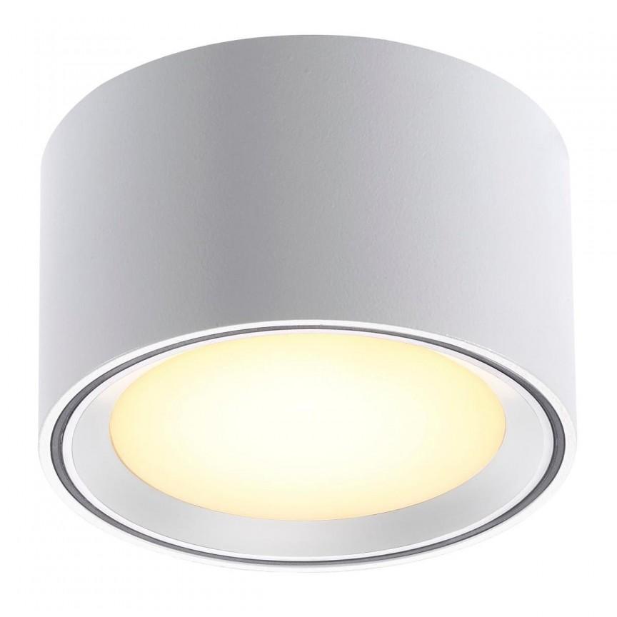 Spot LED aplicat Fallon alb 4-Step MOODMAKER 47540101 NL, Spoturi aplicate - tavan / perete, Corpuri de iluminat, lustre, aplice, veioze, lampadare, plafoniere. Mobilier si decoratiuni, oglinzi, scaune, fotolii. Oferte speciale iluminat interior si exterior. Livram in toata tara.  a