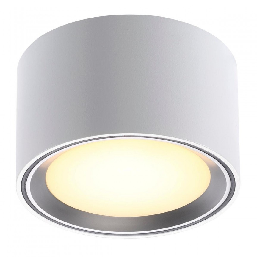 Spot LED aplicat Fallon alb/otel 4-Step MOODMAKER 47540132 NL, Spoturi aplicate - tavan / perete, Corpuri de iluminat, lustre, aplice, veioze, lampadare, plafoniere. Mobilier si decoratiuni, oglinzi, scaune, fotolii. Oferte speciale iluminat interior si exterior. Livram in toata tara.  a