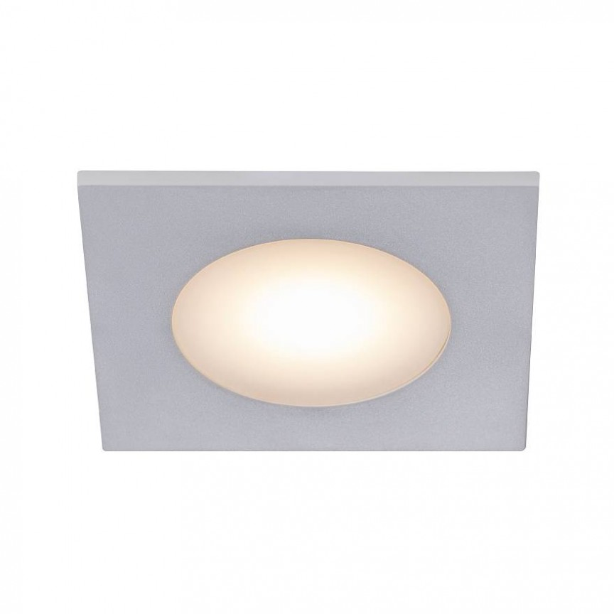 Set de 3 spoturi LED incastrabile pentru baie IP65 Leonis alb 2700K 49170101 NL, Plafoniere cu protectie pentru baie, Corpuri de iluminat, lustre, aplice, veioze, lampadare, plafoniere. Mobilier si decoratiuni, oglinzi, scaune, fotolii. Oferte speciale iluminat interior si exterior. Livram in toata tara.  a