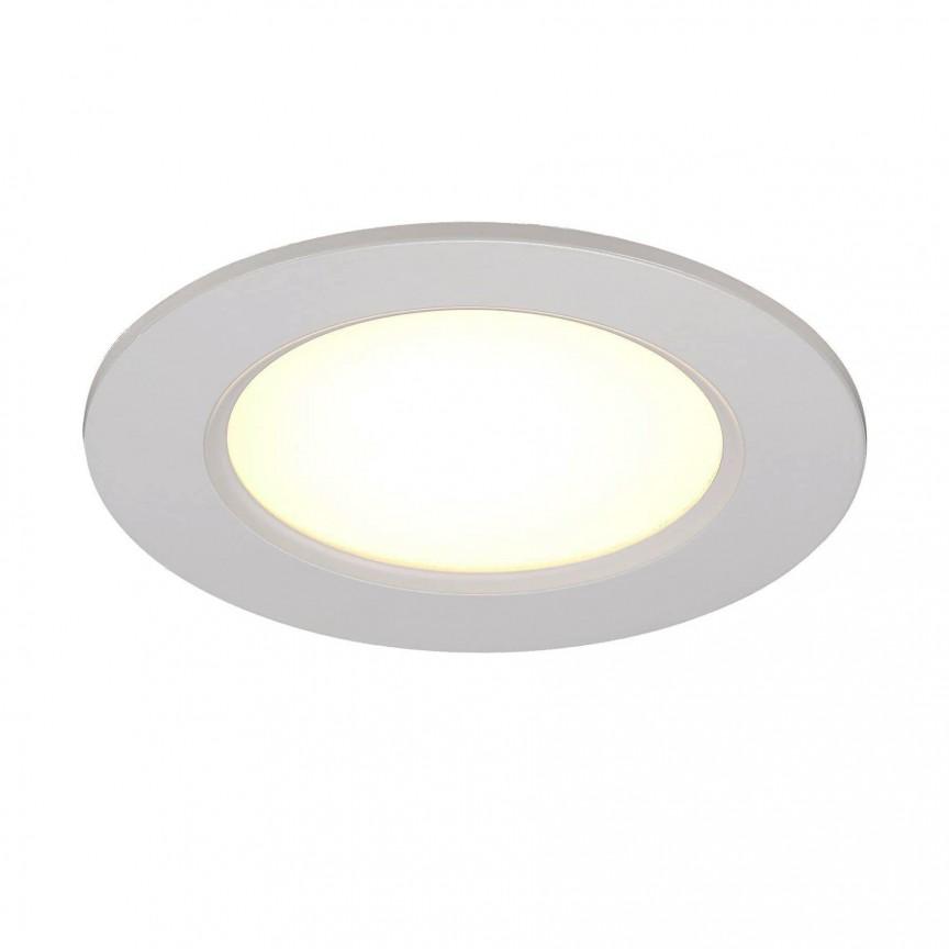 Spot LED incastrabil pentru baie IP44 Palma 12 83500001 NL, Plafoniere cu protectie pentru baie, Corpuri de iluminat, lustre, aplice, veioze, lampadare, plafoniere. Mobilier si decoratiuni, oglinzi, scaune, fotolii. Oferte speciale iluminat interior si exterior. Livram in toata tara.  a