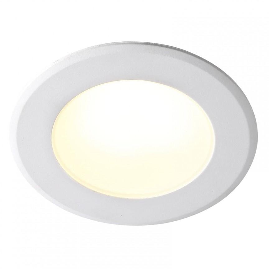 Spot LED incastrabil pentru baie IP44 Birla 84950001 NL, Plafoniere cu protectie pentru baie, Corpuri de iluminat, lustre, aplice, veioze, lampadare, plafoniere. Mobilier si decoratiuni, oglinzi, scaune, fotolii. Oferte speciale iluminat interior si exterior. Livram in toata tara.  a
