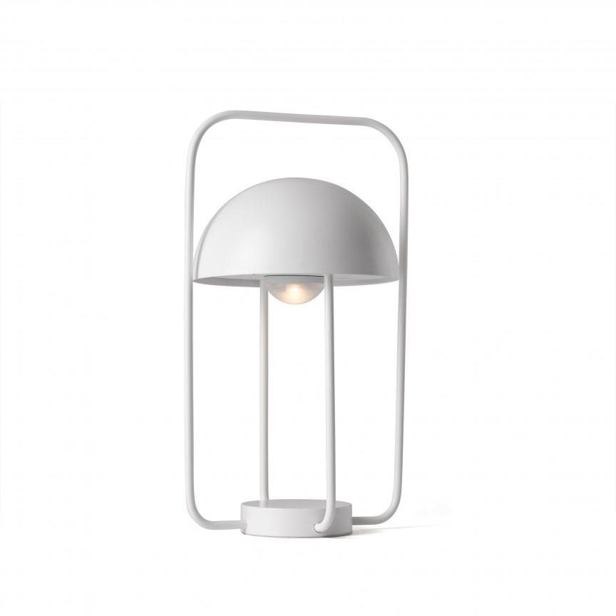 Lampa LED portabila JELLYFISH white 24524, Veioze LED, Lampadare LED, Corpuri de iluminat, lustre, aplice, veioze, lampadare, plafoniere. Mobilier si decoratiuni, oglinzi, scaune, fotolii. Oferte speciale iluminat interior si exterior. Livram in toata tara.  a
