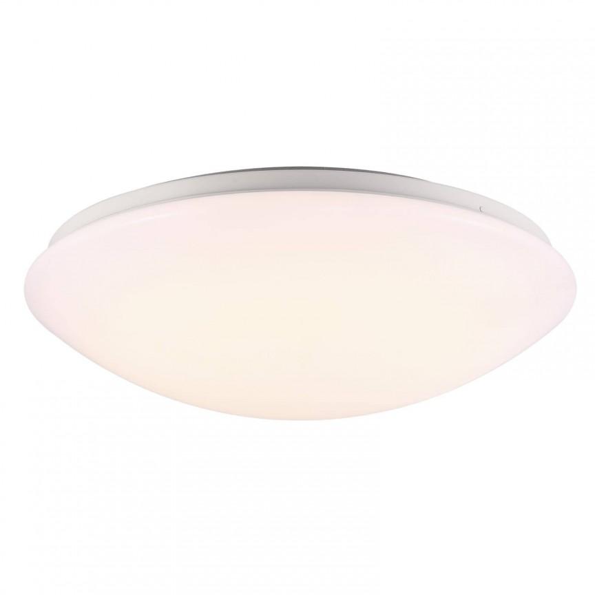 Plafoniera LED pentru baie cu senzor de miscare Ask 36 45386501 NL, Plafoniere moderne, Corpuri de iluminat, lustre, aplice, veioze, lampadare, plafoniere. Mobilier si decoratiuni, oglinzi, scaune, fotolii. Oferte speciale iluminat interior si exterior. Livram in toata tara.  a