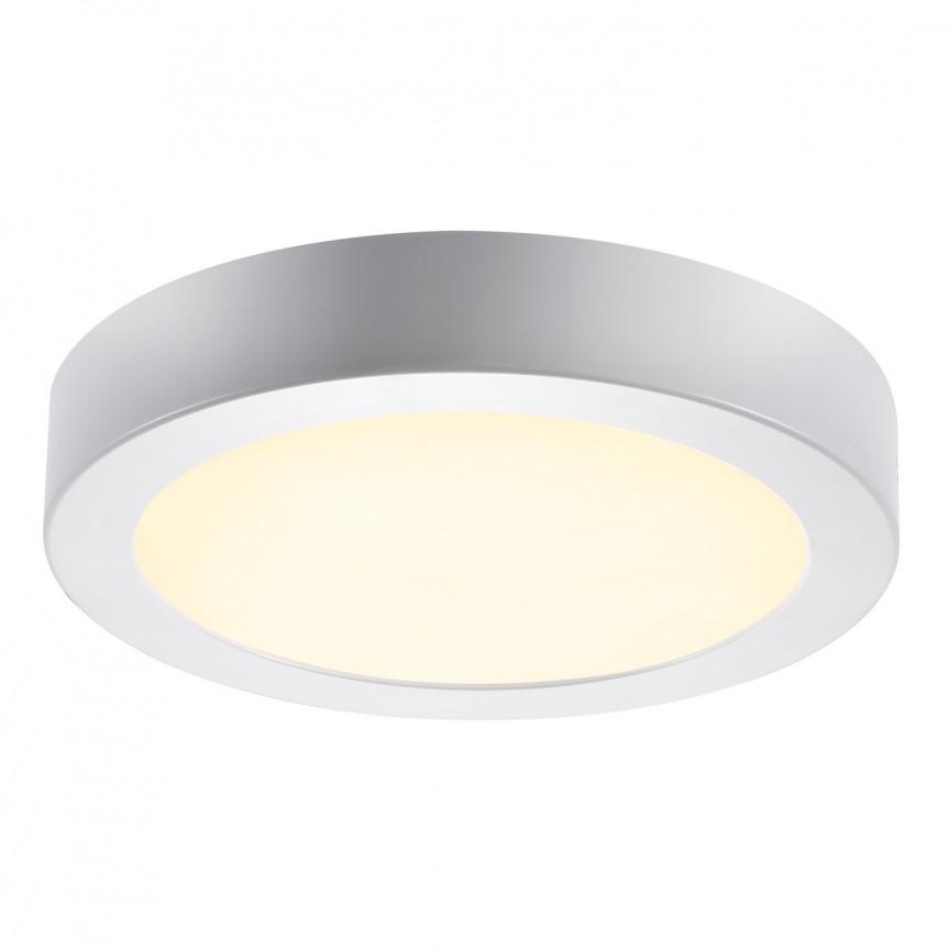 Plafoniera LED design circular Leroy 2700K 47560101 NL, Plafoniere moderne, Corpuri de iluminat, lustre, aplice, veioze, lampadare, plafoniere. Mobilier si decoratiuni, oglinzi, scaune, fotolii. Oferte speciale iluminat interior si exterior. Livram in toata tara.  a