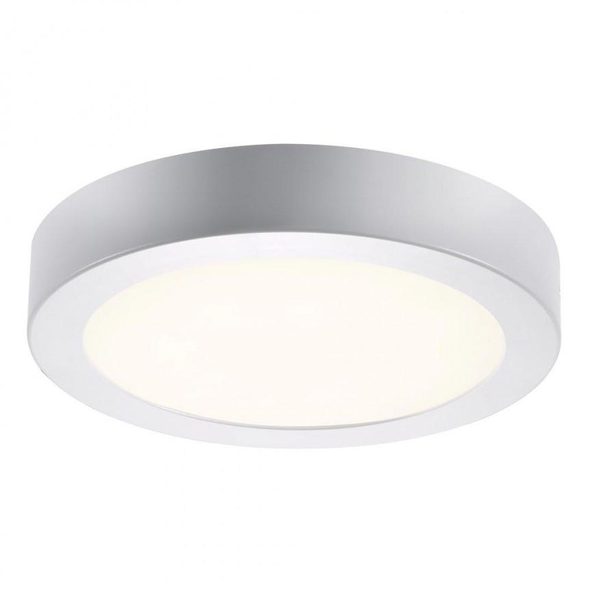Plafoniera LED design circular Leroy 4000K 47680101 NL, Plafoniere moderne, Corpuri de iluminat, lustre, aplice, veioze, lampadare, plafoniere. Mobilier si decoratiuni, oglinzi, scaune, fotolii. Oferte speciale iluminat interior si exterior. Livram in toata tara.  a