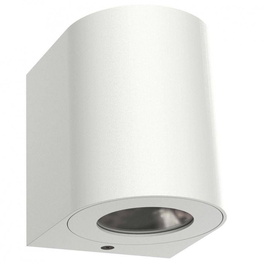 Aplica LED ambientala de exterior IP44 Canto 2 alba 49701001 NL, Aplice de perete LED, Corpuri de iluminat, lustre, aplice, veioze, lampadare, plafoniere. Mobilier si decoratiuni, oglinzi, scaune, fotolii. Oferte speciale iluminat interior si exterior. Livram in toata tara.  a