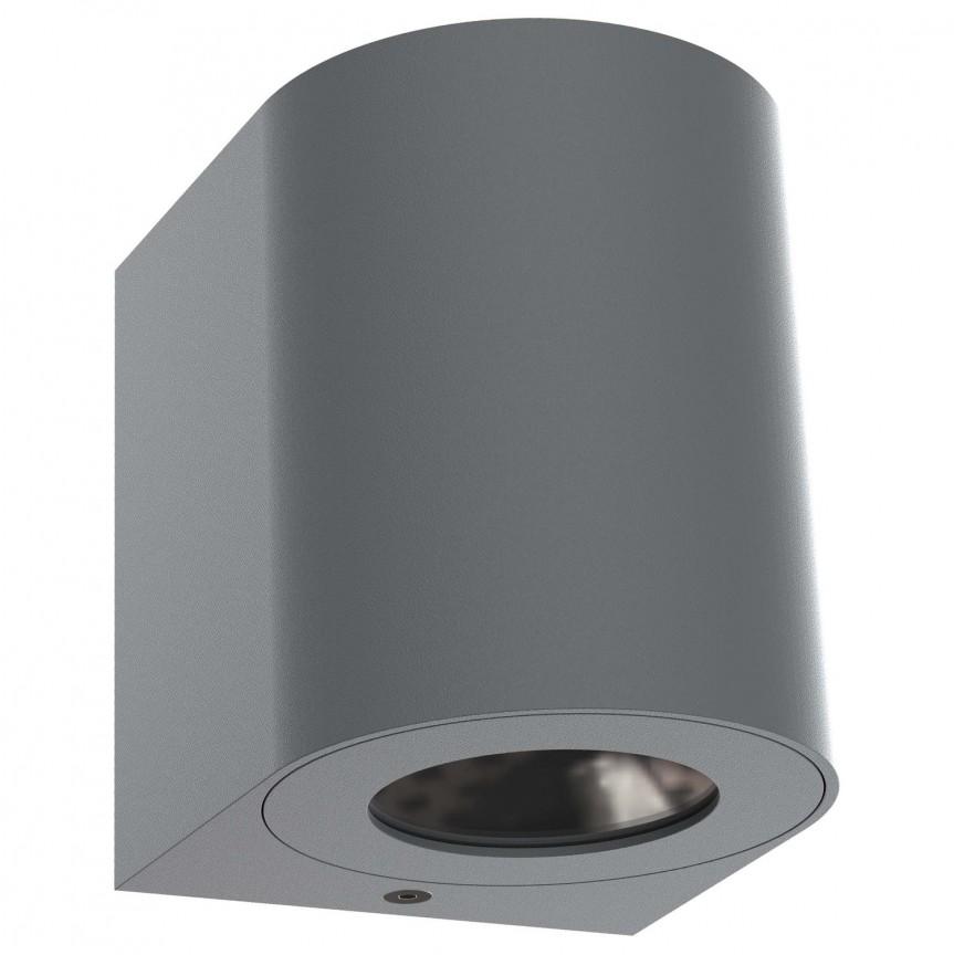 Aplica LED ambientala de exterior IP44 Canto 2 gri 49701010 NL, Aplice de perete LED, Corpuri de iluminat, lustre, aplice, veioze, lampadare, plafoniere. Mobilier si decoratiuni, oglinzi, scaune, fotolii. Oferte speciale iluminat interior si exterior. Livram in toata tara.  a