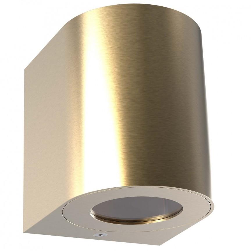 Aplica LED ambientala de exterior IP44 Canto 2 alama 49701035 NL, Aplice de perete LED, Corpuri de iluminat, lustre, aplice, veioze, lampadare, plafoniere. Mobilier si decoratiuni, oglinzi, scaune, fotolii. Oferte speciale iluminat interior si exterior. Livram in toata tara.  a