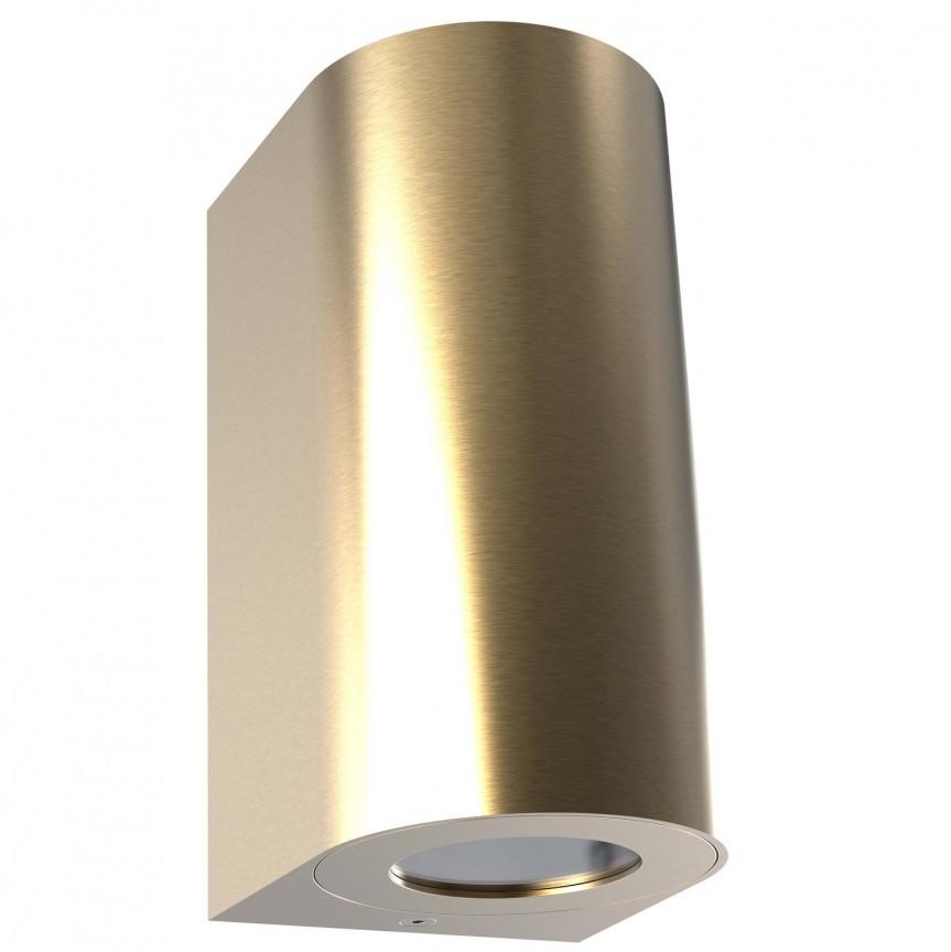 Aplica perete ambientala de exterior IP44 Canto Maxi 2 alama 49721035 NL, Magazin, Corpuri de iluminat, lustre, aplice, veioze, lampadare, plafoniere. Mobilier si decoratiuni, oglinzi, scaune, fotolii. Oferte speciale iluminat interior si exterior. Livram in toata tara.  a