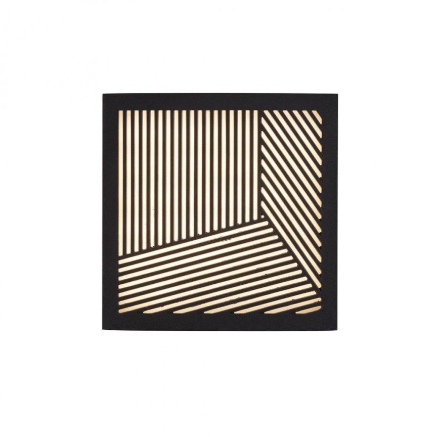 Aplica LED ambientala design decorativ Maze Straight negru 46871003 NL, Magazin, Corpuri de iluminat, lustre, aplice, veioze, lampadare, plafoniere. Mobilier si decoratiuni, oglinzi, scaune, fotolii. Oferte speciale iluminat interior si exterior. Livram in toata tara.  a
