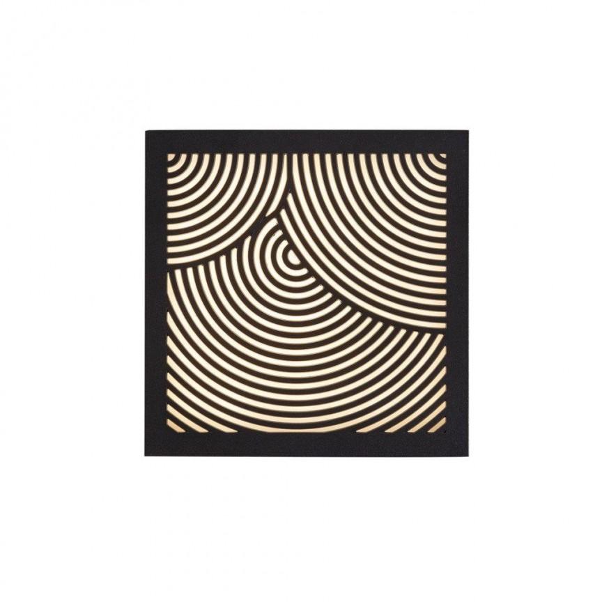 Aplica LED ambientala design decorativ Maze Bended neagra 46881003 NL, Magazin, Corpuri de iluminat, lustre, aplice, veioze, lampadare, plafoniere. Mobilier si decoratiuni, oglinzi, scaune, fotolii. Oferte speciale iluminat interior si exterior. Livram in toata tara.  a