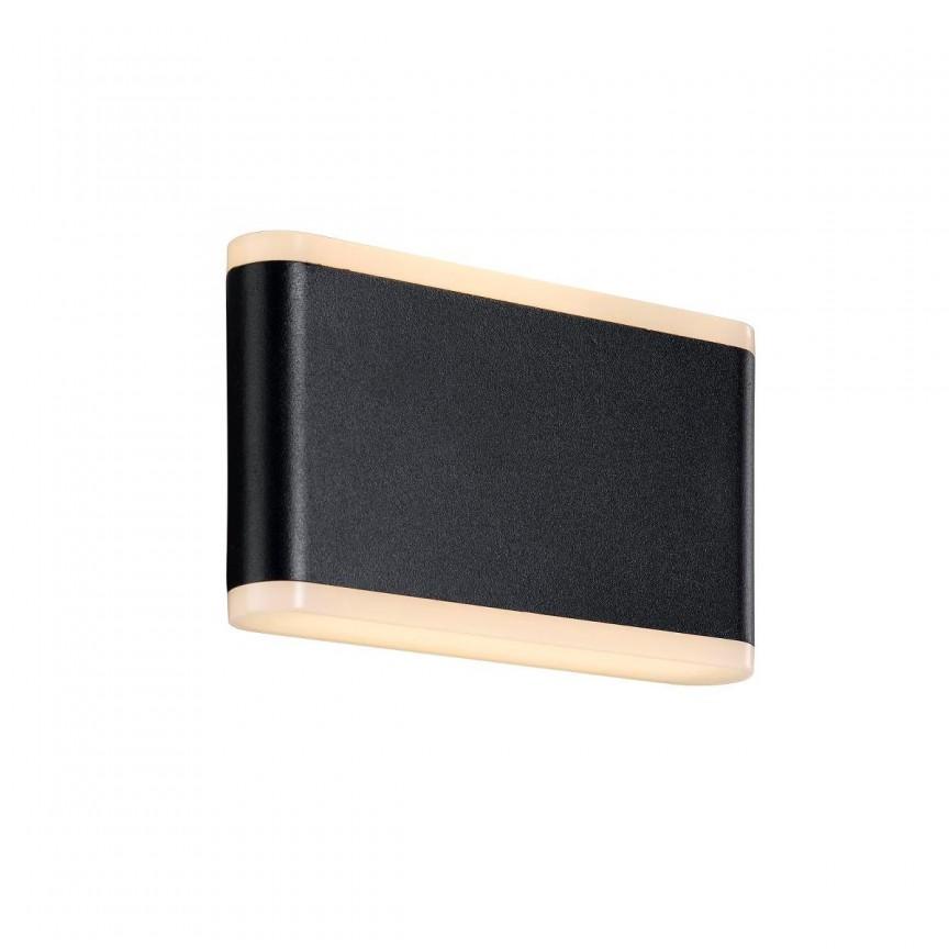 Aplica LED exterior lumina ambientala Akron 17 46971003 NL, ILUMINAT EXTERIOR, Corpuri de iluminat, lustre, aplice, veioze, lampadare, plafoniere. Mobilier si decoratiuni, oglinzi, scaune, fotolii. Oferte speciale iluminat interior si exterior. Livram in toata tara.  a