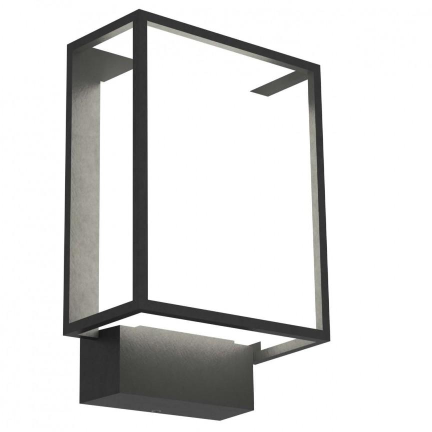 Aplica LED perete exterior design modern Nestor 49041003 NL, ILUMINAT EXTERIOR, Corpuri de iluminat, lustre, aplice, veioze, lampadare, plafoniere. Mobilier si decoratiuni, oglinzi, scaune, fotolii. Oferte speciale iluminat interior si exterior. Livram in toata tara.  a