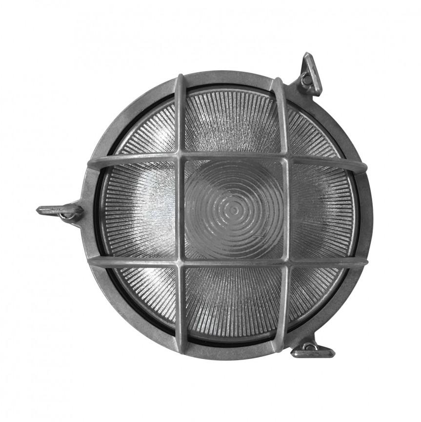 Aplica de exterior stil clasic Polperro nickel 49021055 NL, Aplice de exterior clasice, rustice, traditionale, Corpuri de iluminat, lustre, aplice, veioze, lampadare, plafoniere. Mobilier si decoratiuni, oglinzi, scaune, fotolii. Oferte speciale iluminat interior si exterior. Livram in toata tara.  a