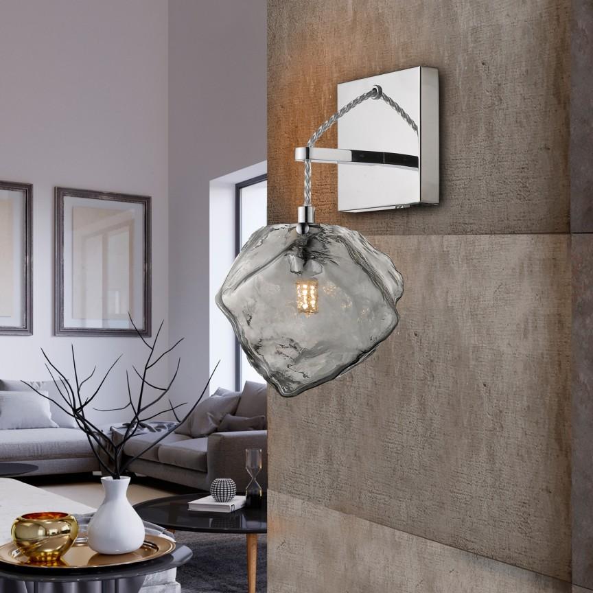 Aplica de perete design modern Petra SV-213868, Aplice de perete moderne, Corpuri de iluminat, lustre, aplice, veioze, lampadare, plafoniere. Mobilier si decoratiuni, oglinzi, scaune, fotolii. Oferte speciale iluminat interior si exterior. Livram in toata tara.  a