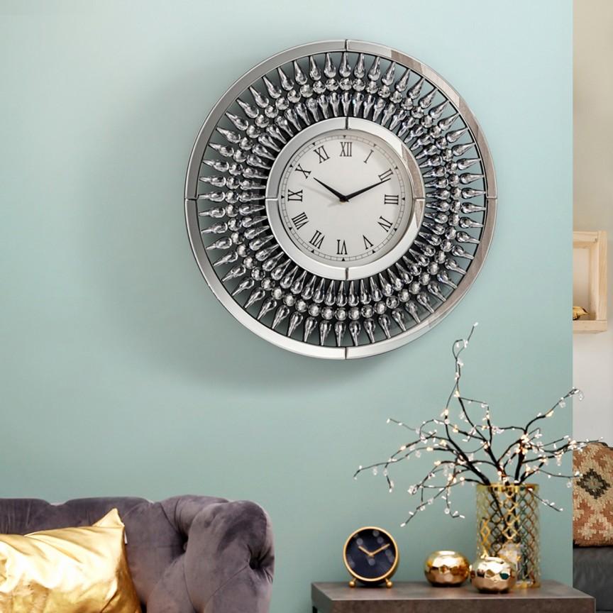 Ceas de perete decorativ Ø60cm Julia SV-680941, Ceasuri de perete decorative,  a