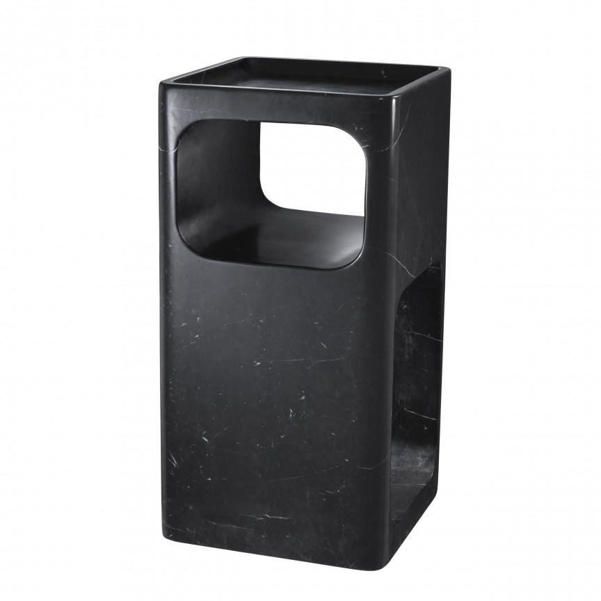 Masuta laterala design LUX Adler negru 113633 HZ, Masute de cafea, Corpuri de iluminat, lustre, aplice, veioze, lampadare, plafoniere. Mobilier si decoratiuni, oglinzi, scaune, fotolii. Oferte speciale iluminat interior si exterior. Livram in toata tara.  a