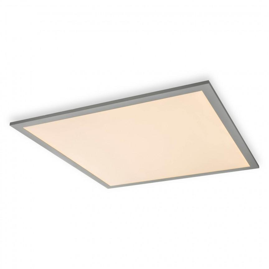 Plafoniera LED dimabila design slim MARZO 41W, 62x62cm 41630D3 GL, ILUMINAT INTERIOR LED , Corpuri de iluminat, lustre, aplice, veioze, lampadare, plafoniere. Mobilier si decoratiuni, oglinzi, scaune, fotolii. Oferte speciale iluminat interior si exterior. Livram in toata tara.  a