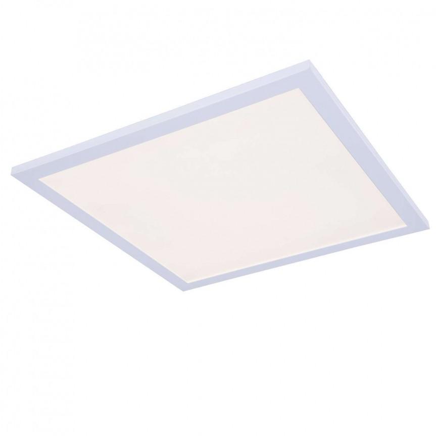Plafoniera LED design slim cu lumina ajustabila Lux 18W 41643D1D GL, ILUMINAT INTERIOR LED , Corpuri de iluminat, lustre, aplice, veioze, lampadare, plafoniere. Mobilier si decoratiuni, oglinzi, scaune, fotolii. Oferte speciale iluminat interior si exterior. Livram in toata tara.  a