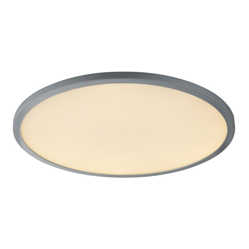 Plafoniera LED dimabila design slim cu telecomanda SABI 41639-60 GL, Lampi LED si Telecomanda, Corpuri de iluminat, lustre, aplice, veioze, lampadare, plafoniere. Mobilier si decoratiuni, oglinzi, scaune, fotolii. Oferte speciale iluminat interior si exterior. Livram in toata tara.  a