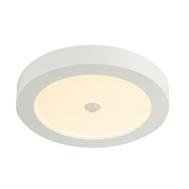 Plafoniera LED cu senzor de miscare Ø22cm PAULA 41605-18S GL, ILUMINAT INTERIOR LED , Corpuri de iluminat, lustre, aplice, veioze, lampadare, plafoniere. Mobilier si decoratiuni, oglinzi, scaune, fotolii. Oferte speciale iluminat interior si exterior. Livram in toata tara.  a