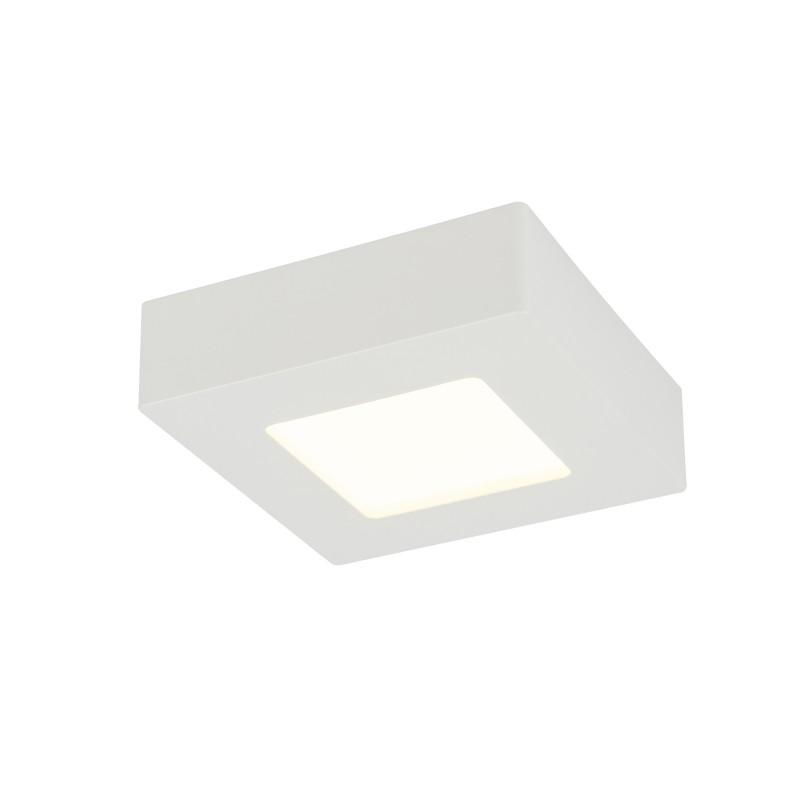 Plafoniera LED dimabila mini de tip spot aplicat 9W SVENJA 41606-9D GL, ILUMINAT INTERIOR LED , Corpuri de iluminat, lustre, aplice, veioze, lampadare, plafoniere. Mobilier si decoratiuni, oglinzi, scaune, fotolii. Oferte speciale iluminat interior si exterior. Livram in toata tara.  a