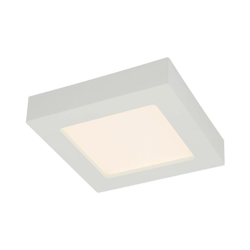 Plafoniera LED dimabila mini de tip spot aplicat 16W SVENJA 41606-16D GL, ILUMINAT INTERIOR LED , Corpuri de iluminat, lustre, aplice, veioze, lampadare, plafoniere. Mobilier si decoratiuni, oglinzi, scaune, fotolii. Oferte speciale iluminat interior si exterior. Livram in toata tara.  a