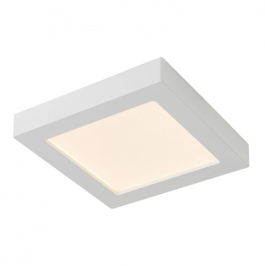 Plafoniera LED dimabila design slim 24W SVENJA 41606-24D GL, ILUMINAT INTERIOR LED , Corpuri de iluminat, lustre, aplice, veioze, lampadare, plafoniere. Mobilier si decoratiuni, oglinzi, scaune, fotolii. Oferte speciale iluminat interior si exterior. Livram in toata tara.  a