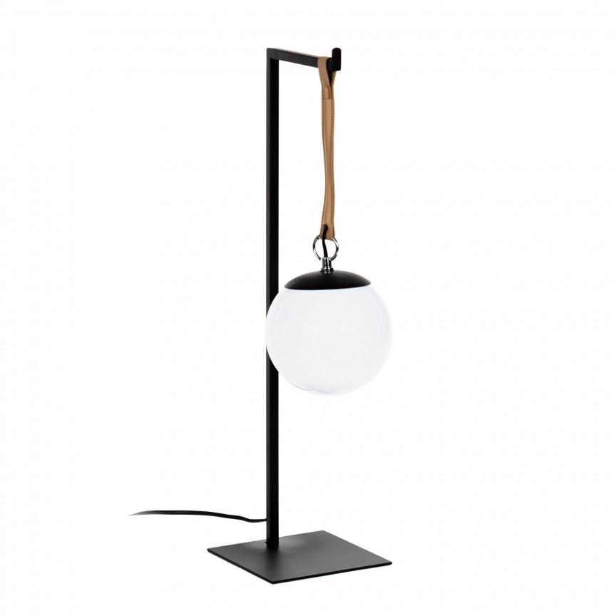 Veioza / Lampa de masa design modern Monteiro AA4326R01 JG, Veioze, Lampi de masa, Corpuri de iluminat, lustre, aplice, veioze, lampadare, plafoniere. Mobilier si decoratiuni, oglinzi, scaune, fotolii. Oferte speciale iluminat interior si exterior. Livram in toata tara.  a