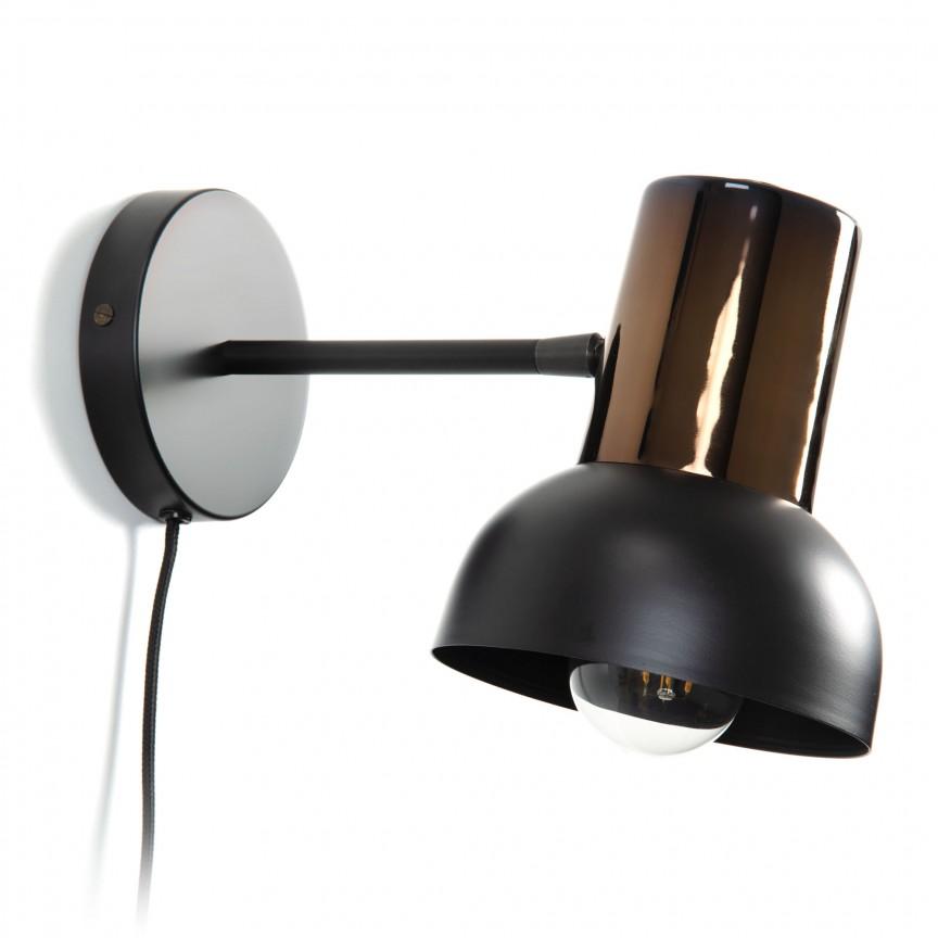 Aplica de perete moderna directionabila Anina AA4305R35 JG, Aplice de perete moderne, Corpuri de iluminat, lustre, aplice, veioze, lampadare, plafoniere. Mobilier si decoratiuni, oglinzi, scaune, fotolii. Oferte speciale iluminat interior si exterior. Livram in toata tara.  a