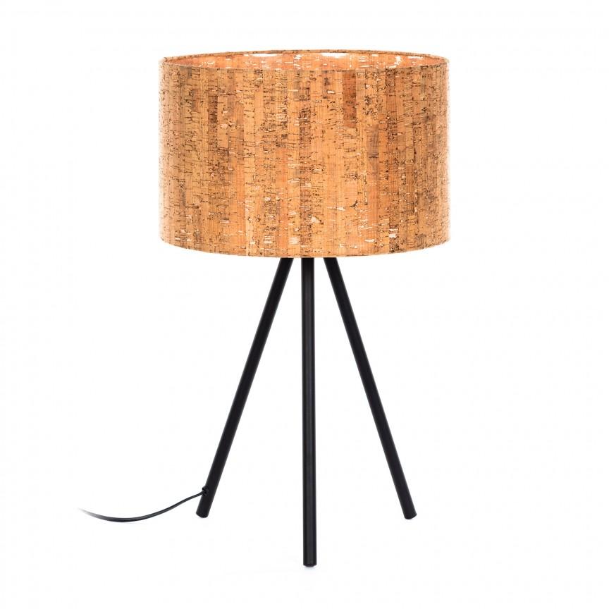 Veioza / Lampa de masa design natural Shaden AA3852CK00 JG, Veioze, Lampi de masa, Corpuri de iluminat, lustre, aplice, veioze, lampadare, plafoniere. Mobilier si decoratiuni, oglinzi, scaune, fotolii. Oferte speciale iluminat interior si exterior. Livram in toata tara.  a