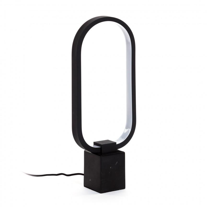 Lampa LED de masa design modern Cinta AA4786R01 JG, ILUMINAT INTERIOR LED , Corpuri de iluminat, lustre, aplice, veioze, lampadare, plafoniere. Mobilier si decoratiuni, oglinzi, scaune, fotolii. Oferte speciale iluminat interior si exterior. Livram in toata tara.  a