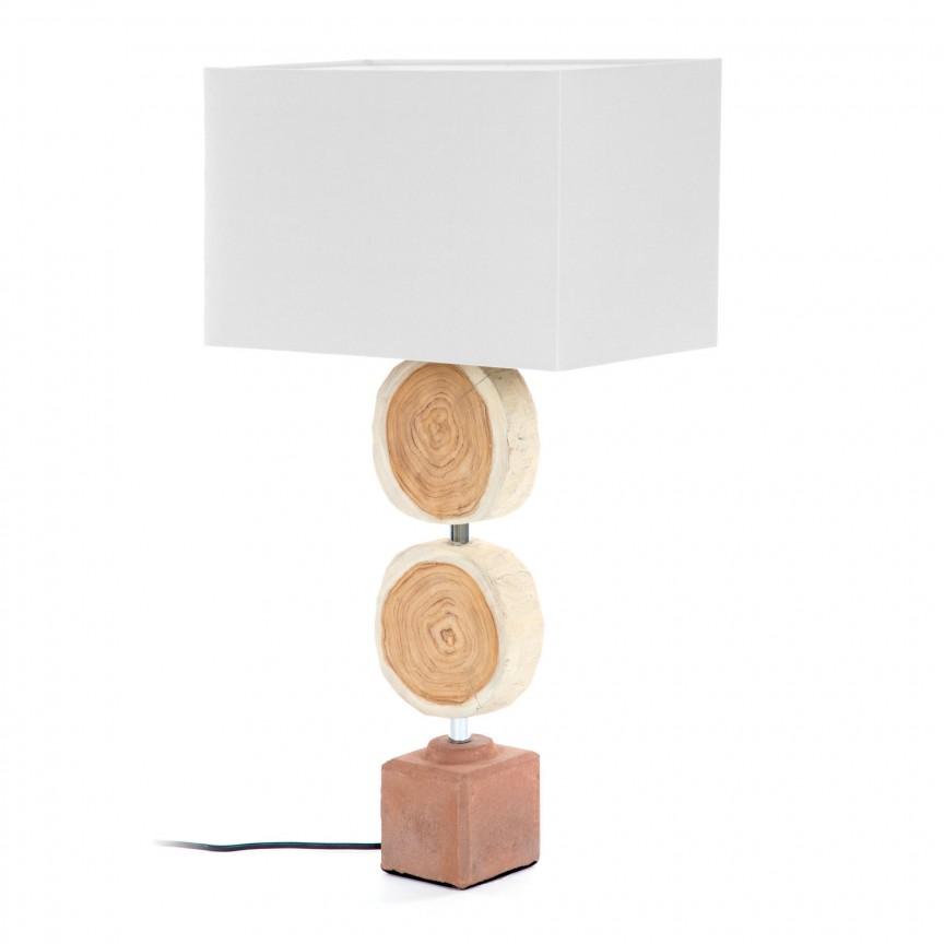 Lampa de masa rustica design decorativ Myriad AA4257J33 JG, Veioze, Corpuri de iluminat, lustre, aplice, veioze, lampadare, plafoniere. Mobilier si decoratiuni, oglinzi, scaune, fotolii. Oferte speciale iluminat interior si exterior. Livram in toata tara.  a