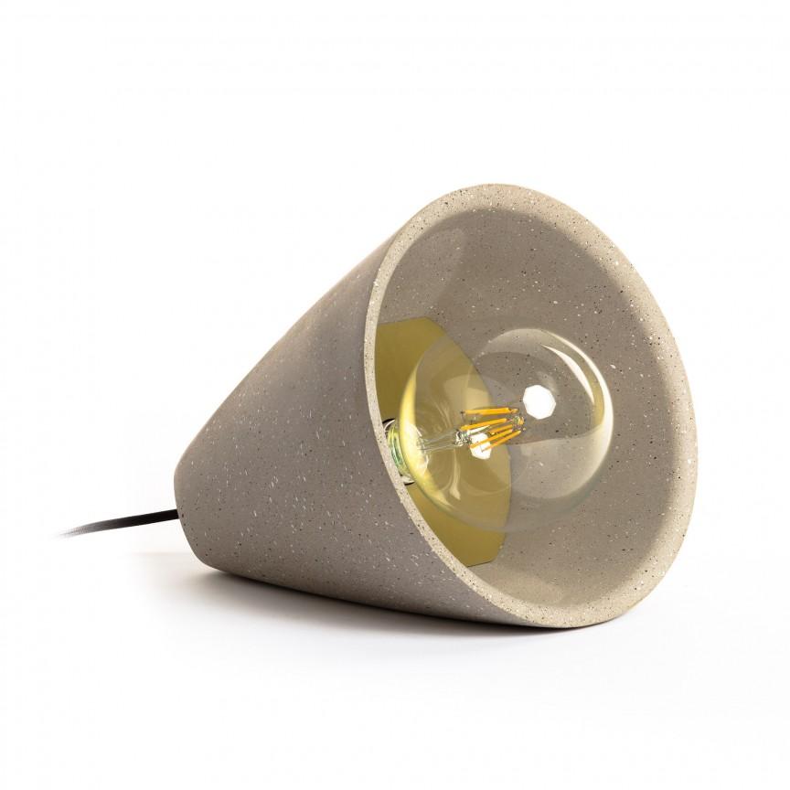 Veioza / Lampa de masa decorativa Arilia AA4777PR14 JG, Veioze, Lampi de masa, Corpuri de iluminat, lustre, aplice, veioze, lampadare, plafoniere. Mobilier si decoratiuni, oglinzi, scaune, fotolii. Oferte speciale iluminat interior si exterior. Livram in toata tara.  a