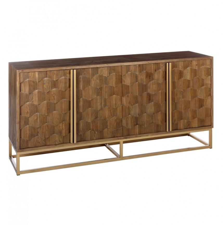 Comoda din lemn design vintage Natural 195x48cm DZ-105516 , Dulapuri - Comode, Corpuri de iluminat, lustre, aplice, veioze, lampadare, plafoniere. Mobilier si decoratiuni, oglinzi, scaune, fotolii. Oferte speciale iluminat interior si exterior. Livram in toata tara.  a