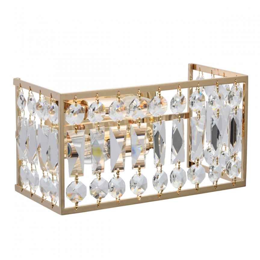 Aplica de perete cristal design elegant Monarch 121021902 MW, Aplice de perete moderne, Corpuri de iluminat, lustre, aplice, veioze, lampadare, plafoniere. Mobilier si decoratiuni, oglinzi, scaune, fotolii. Oferte speciale iluminat interior si exterior. Livram in toata tara.  a
