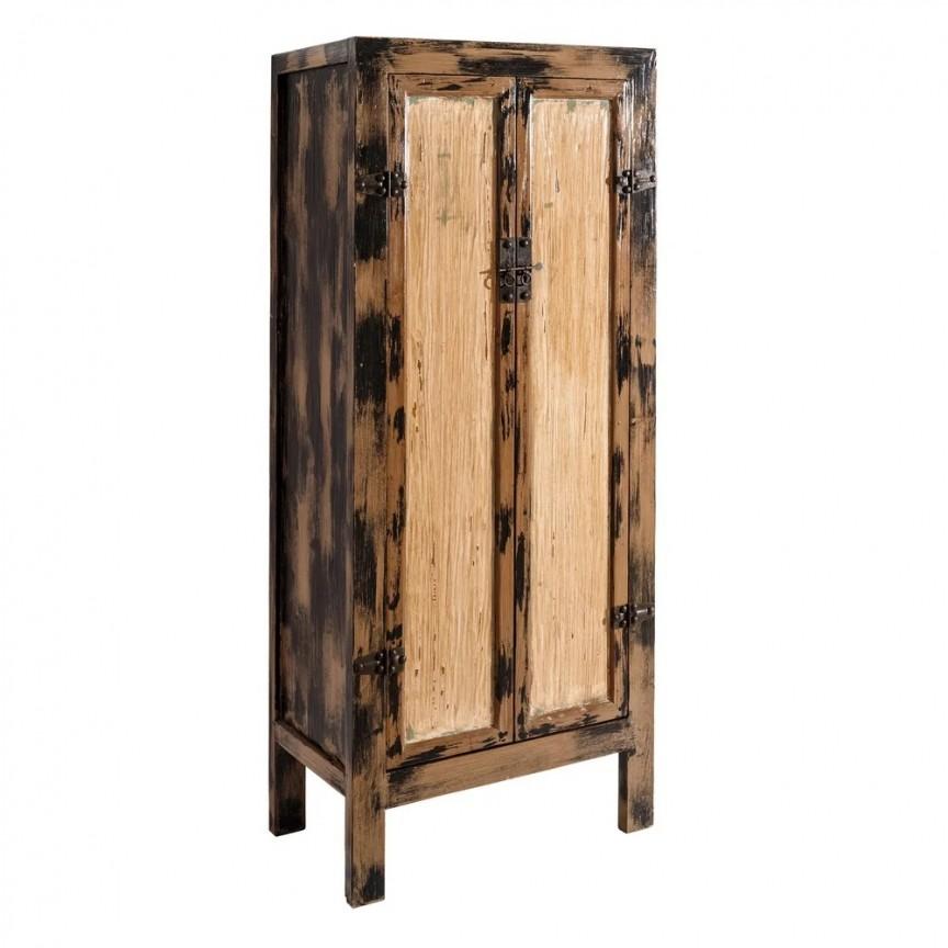 Dulap din lemn design oriental Mabelle 80x48cm DZ-108231, Cele mai noi produse 2019 a