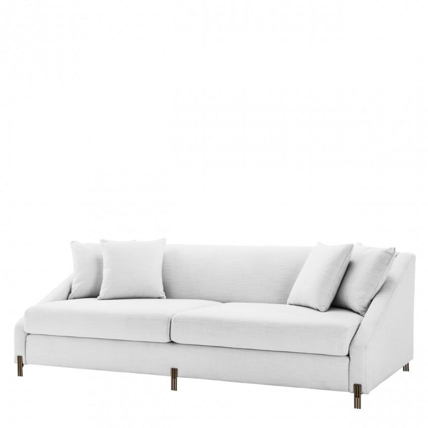 Canapea eleganta design LUX Candice, alb 113228 HZ, Cele mai noi produse 2019 a