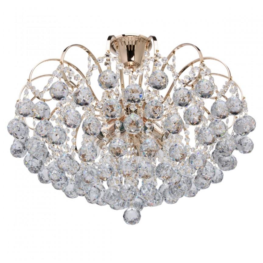Lustra cristal stil elegant Ø58cm PEARLS 232016708 MW, Lustre moderne aplicate, Corpuri de iluminat, lustre, aplice, veioze, lampadare, plafoniere. Mobilier si decoratiuni, oglinzi, scaune, fotolii. Oferte speciale iluminat interior si exterior. Livram in toata tara.  a